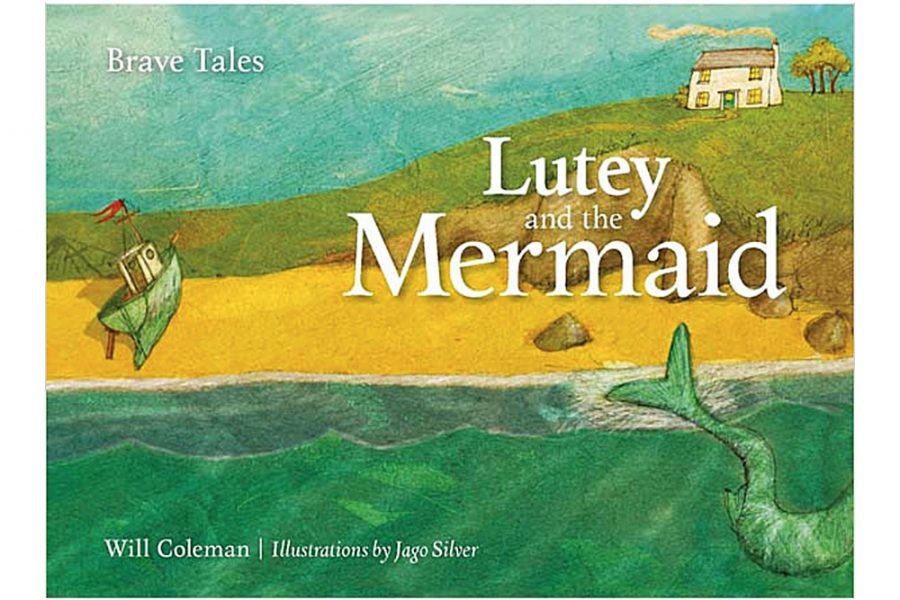 Lutey and the Mermaid book cover