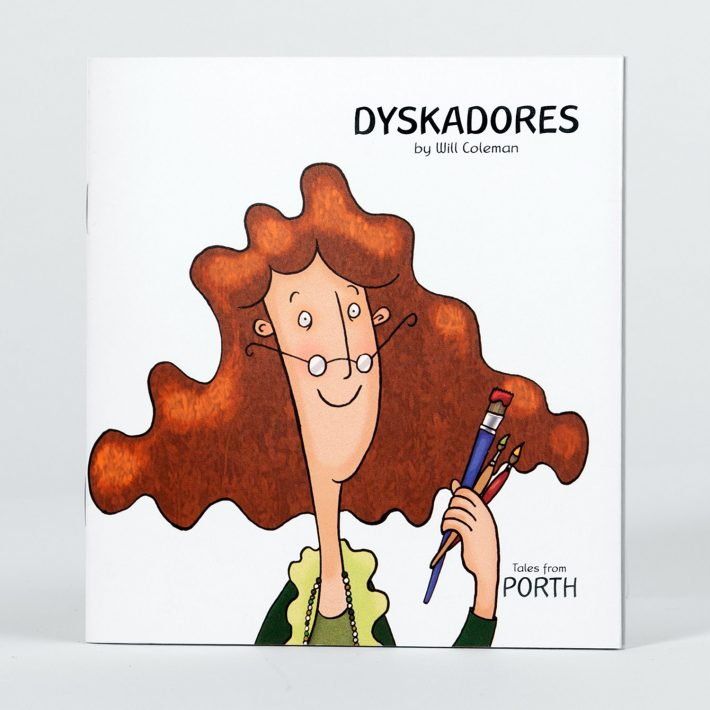 Dyskadores Cornish childrens book cover