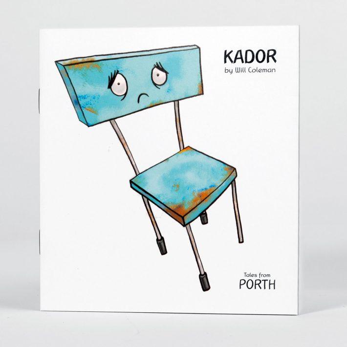 Kador childrens book cover
