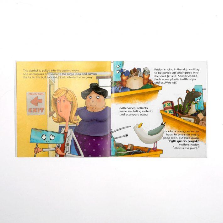 Kador childrens book spread