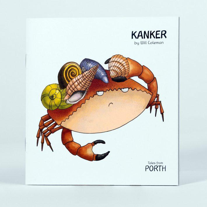 Kanker childrens book cover