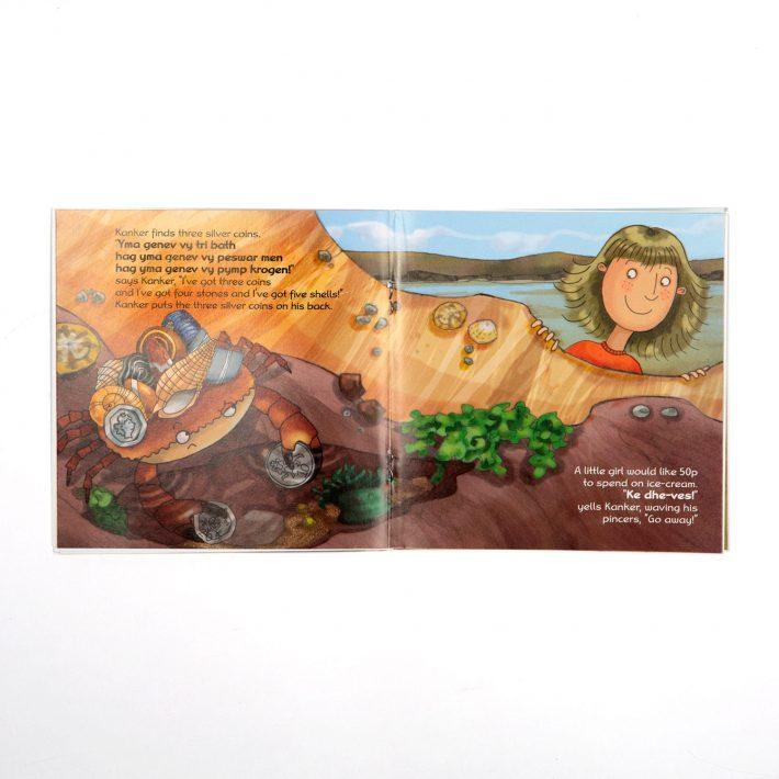 Kanker childrens book spread