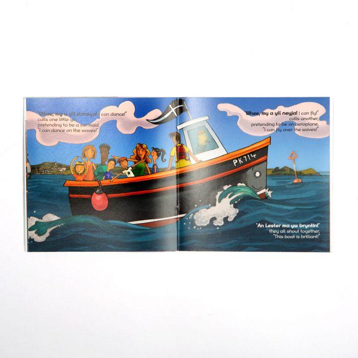 Lester Cornish Language Childrens Book