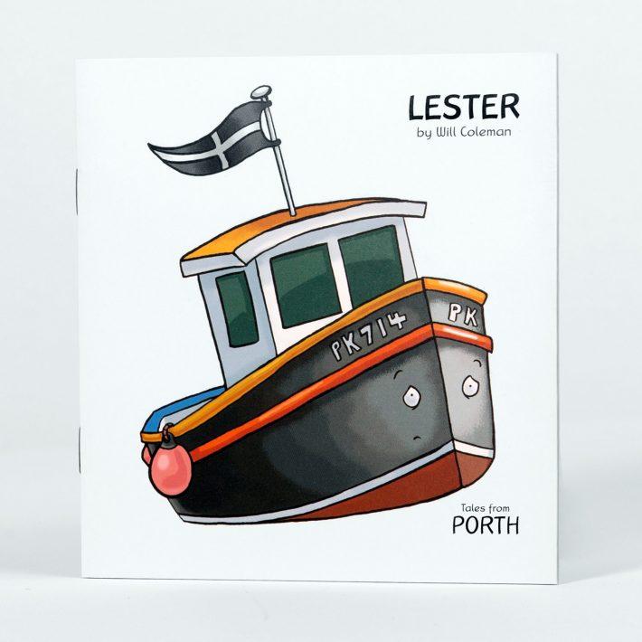 Lester - a Cornish story for children