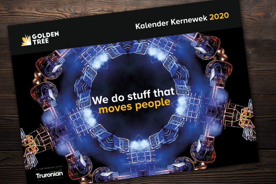 Turonian 2020 calendar of Golden Tree projects