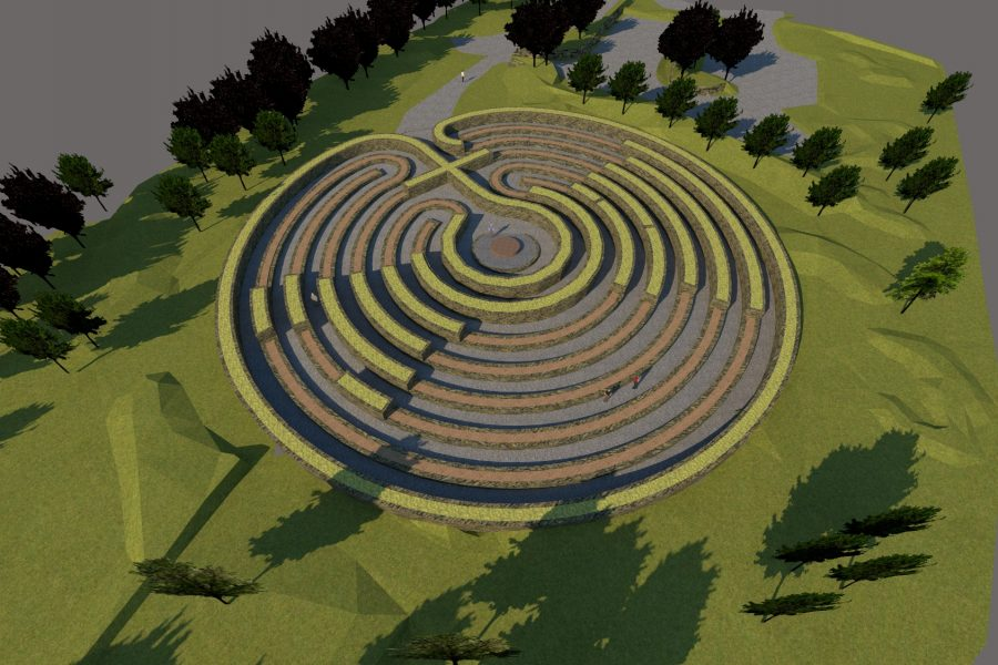 The Kerdroya Labyrinth at Colliford Lake